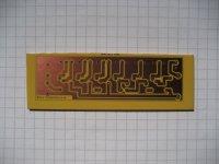 VU-Meter (passiv) - Platine 71x21mm