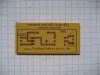 LED nach 230 Volt Schalter - Platine 45x18mm