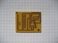 LED-Spannungsanzeige - Platine 42x35mm