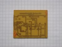 Ultraschall-Abstandswarner - Platine 51x35mm