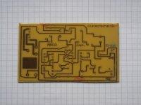 Klatsch-Schalter - Platine 89x53mm
