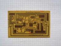 Einschaltzeit-Begrenzer - Platine 105x64mm