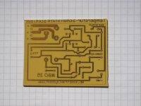 Temperatur-Schaltstufe - Platine 48x47mm