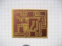 Wechselrichter 12->230Volt - Platine 47x37mm