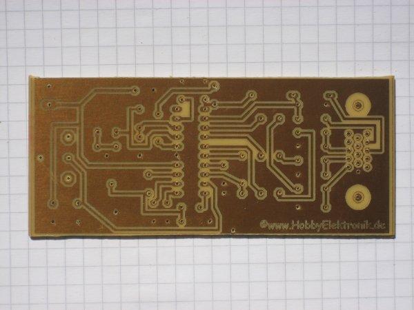 VGA nach FBAS-Wandler - Platine 98x44mm