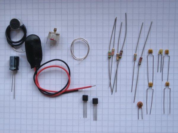 UKW-Prüfsender 1 - Bauteilesatz