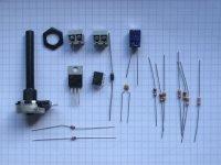 12-Volt Dimmer - Bauteilesatz