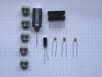 2x 20Watt Stereo-Verstärker - Bauteilesatz