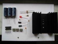 50 Watt / 12 Volt Verstärker - Bauteilesatz