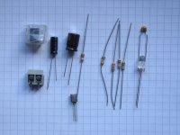LED-Blitzer - Bauteilesatz