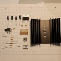 70Watt Verstärker - Bauteilesatz