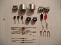 Ultraschall-Abstandswarner - Bauteilesatz